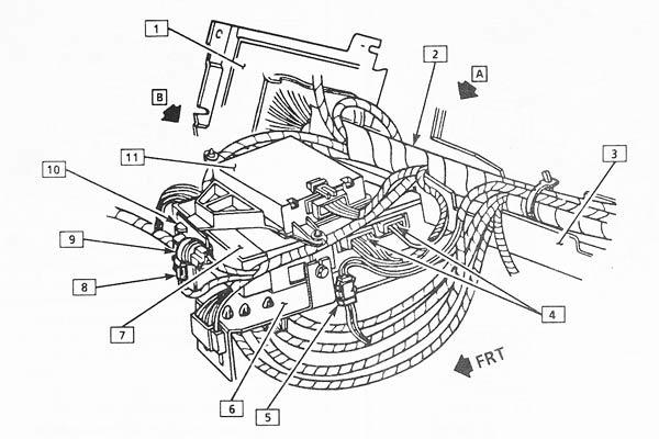 electric car aerial wiring diagram
