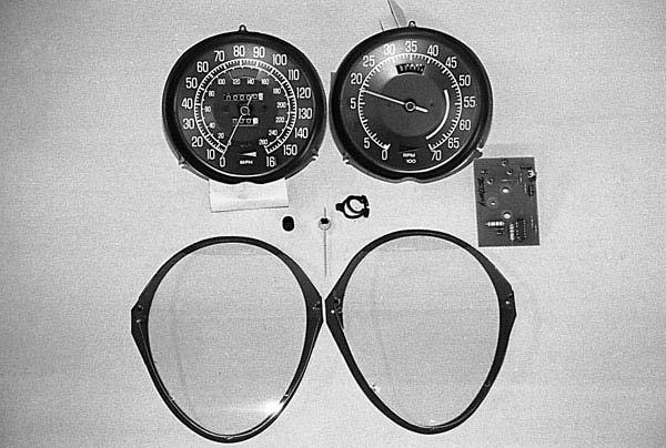 1968-1977 Corvette Speedometer  Tachometer Repair Installation