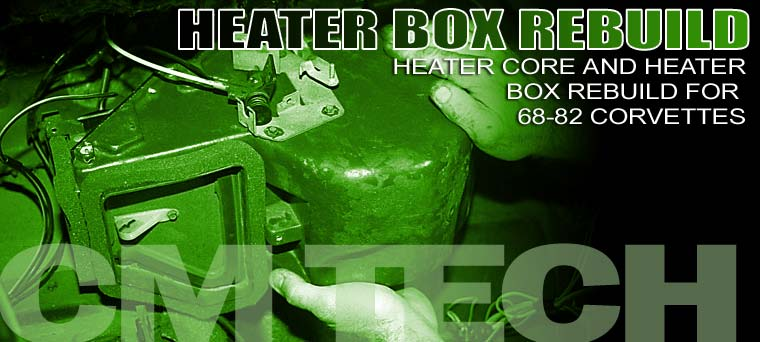 1968-1982 Corvette Heater Box Rebuild Corvette Magazine