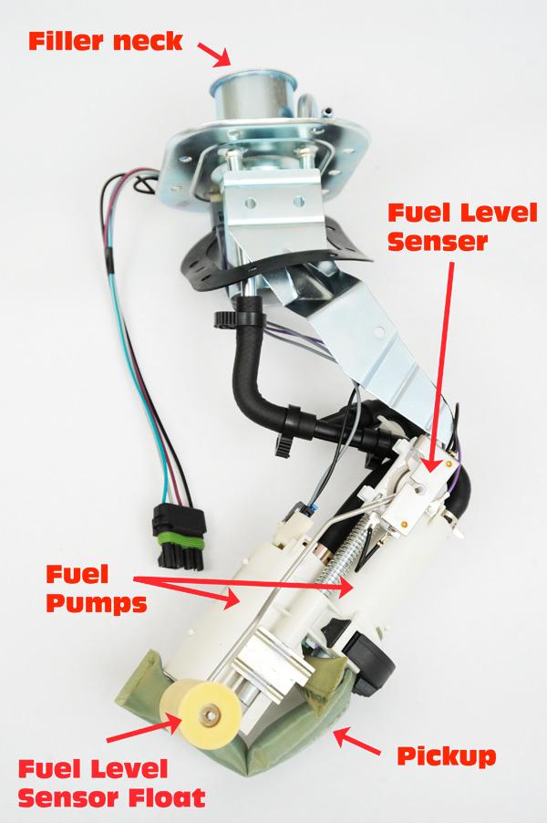 gm fuel sending unit wiring