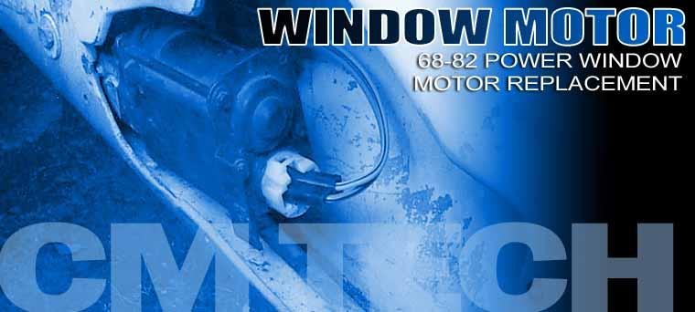 1968-1982 Power Window Motor Replacement Corvette Magazine