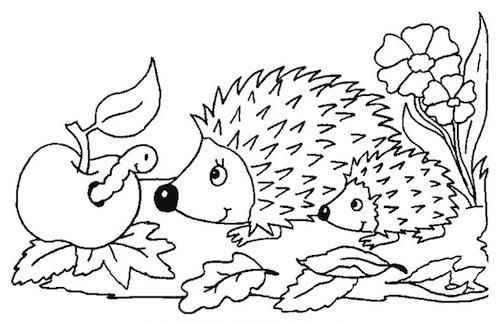 disegno di il porcospino da colorare per bambini auto electricaldisegno di il porcospino da colorare per bambini