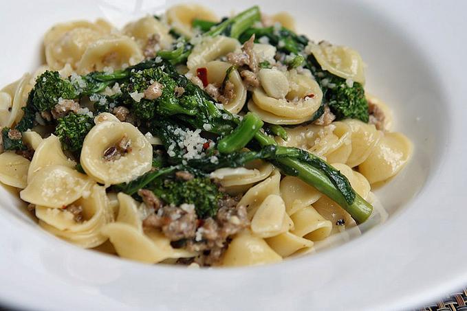 Orecchiette with Broccoli Rabe and Italian Sausage - Così Italiano