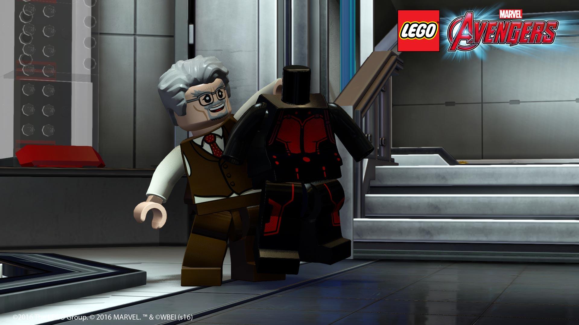 Microsoft Wallpaper Fall Lego Marvel Avengers Ant Man Dlc Available For Free