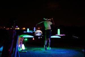 night golf fundraising