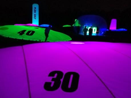 night golf targets