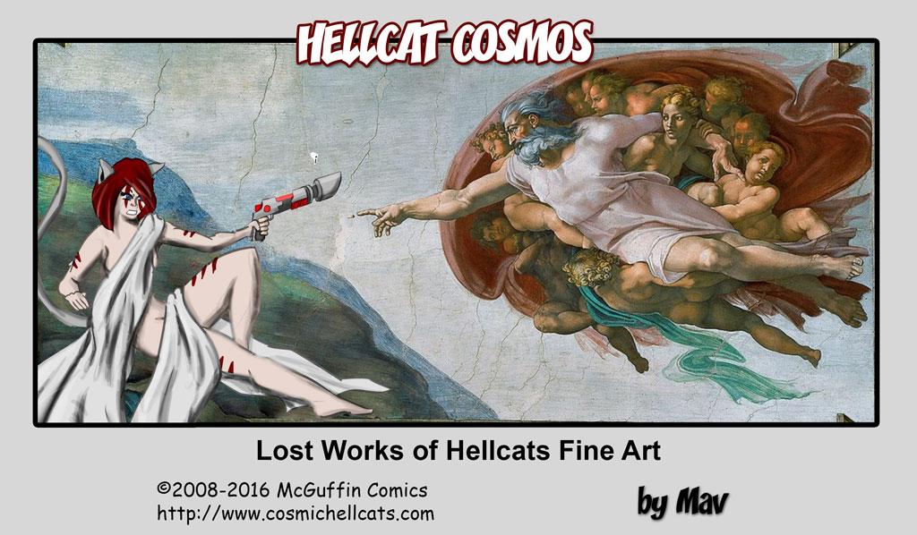 Lost Works of Hellcat Art III