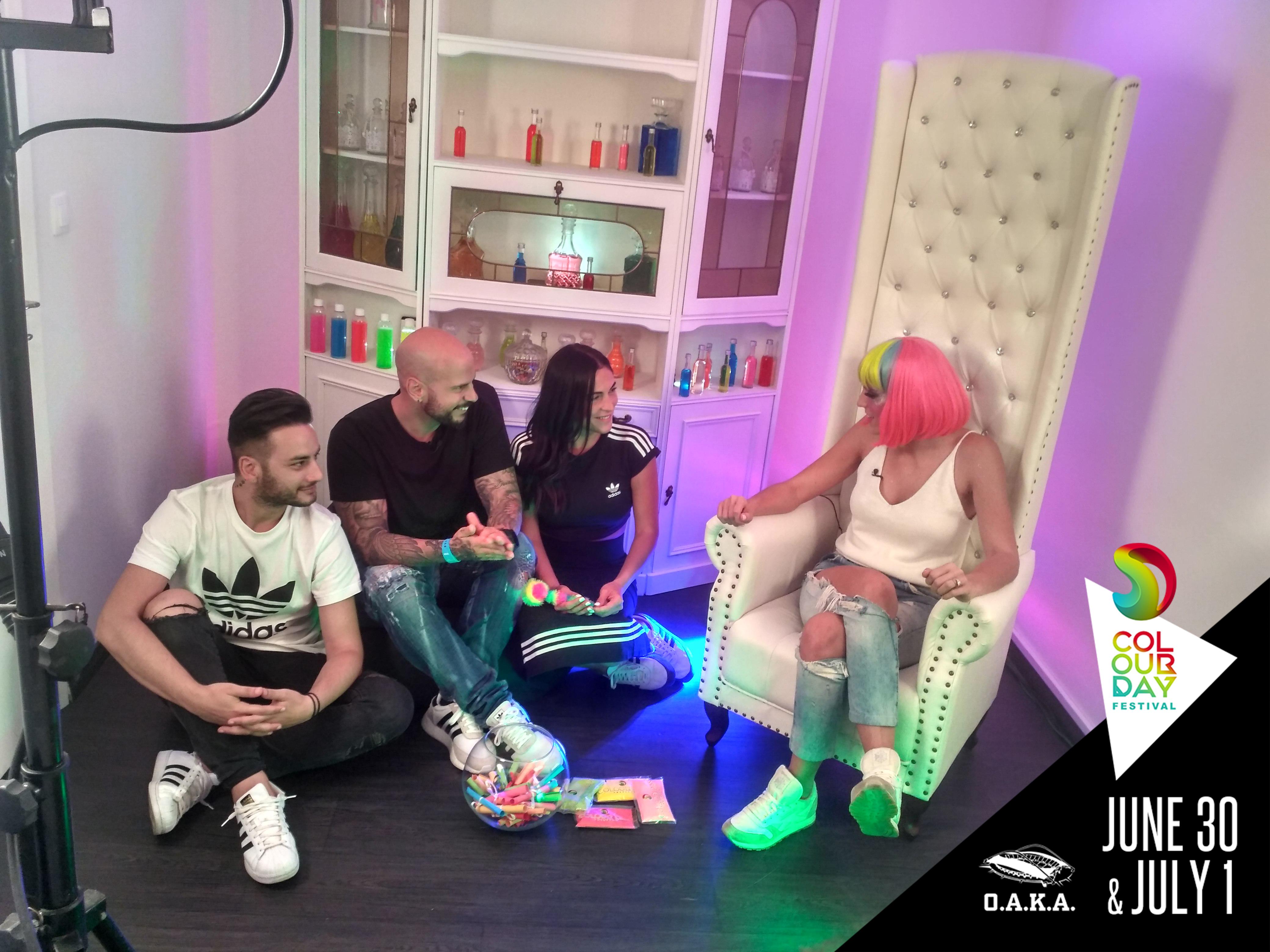 Η Dr IRIS ανακρίνει τους καλλιτέχνες πριν το 4ο Colour Day Festival