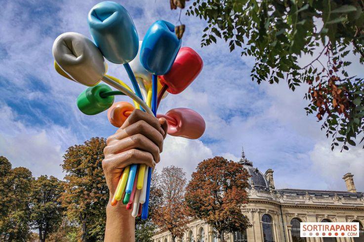 Ένα μπρούτζινο «Μπουκέτο από Τουλίπες» το νέο στολίδι του Παρισιού
