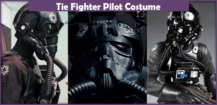 Tie Fighter Pilot Costume Tie Fighter Pilot