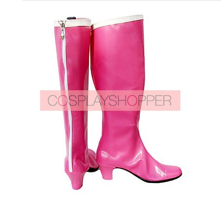 Sailor Moon Tsukino Usagi Pink Cosplay Boots
