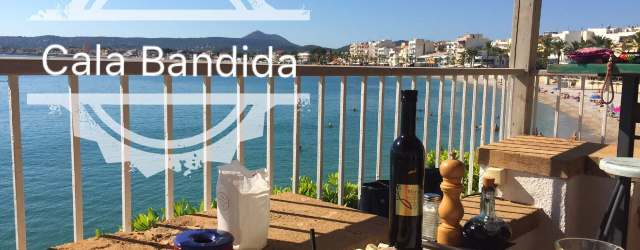 Cala bandida Restaurant with amazing sea view Javea