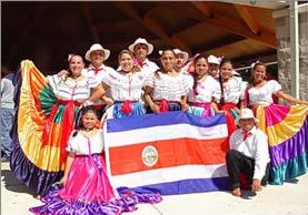 Traje Típico, Símbolo Nacional de Costa Rica