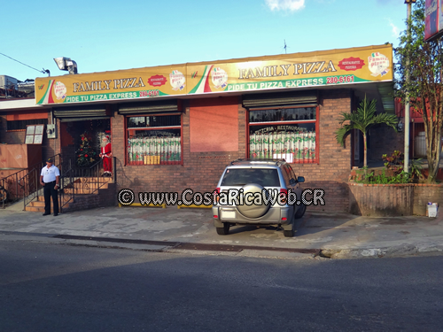 Restaurante Family Pizza en San José, Costa Rica
