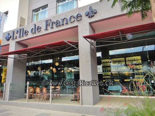 L'Ile de France Restaurant in Escazu, San Jose, Costa Rica