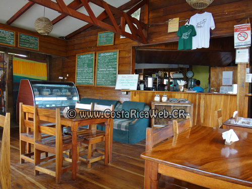 Bread & Chocolate Restaurant and Coffee Shop in Puerto Viejo, Limon, Costa Rica