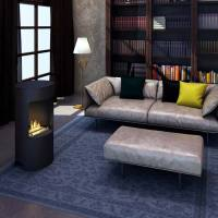 Imagin Fires Stow Bio-Ethanol Real Flame Fireplace + 6 x ...