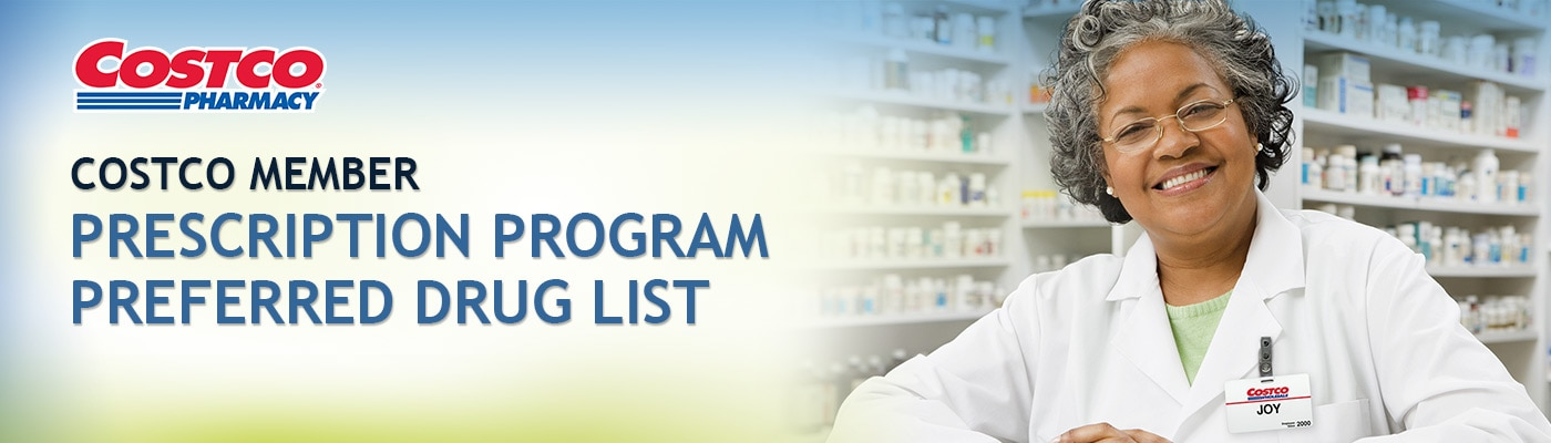 Costco Member Prescription Program Preferred Drug List Costco - costco jobs
