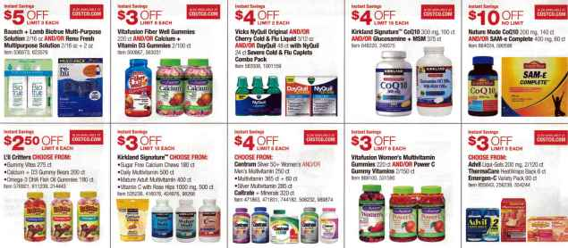 January 2016 Costco Coupon Book Page 8
