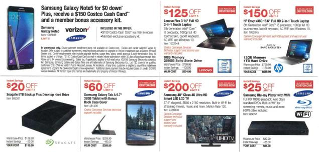 February 2016 Costco Coupon Book Page 2