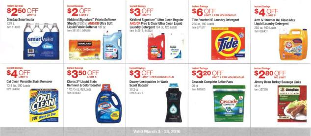 March 2016 Costco Coupon Book Page 11