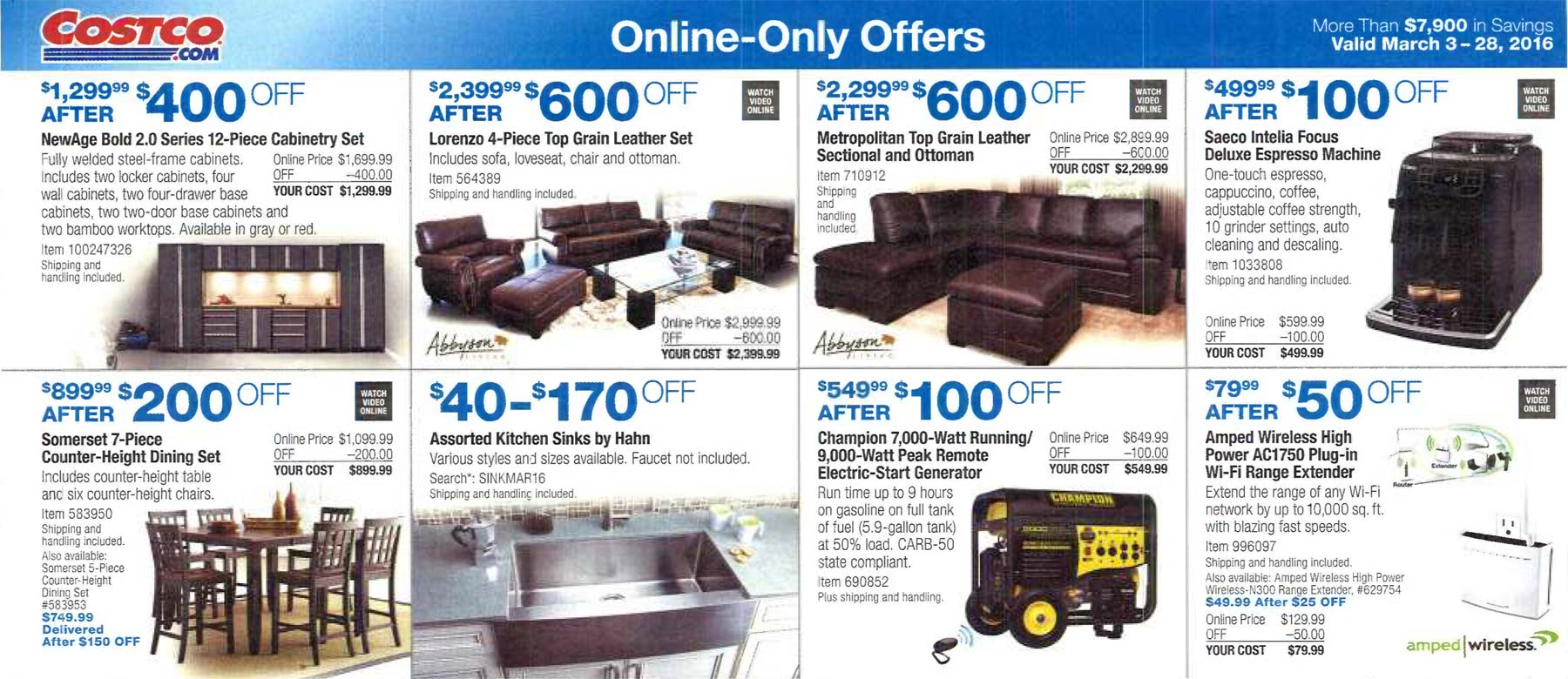 Costco march coupons