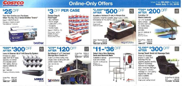 July 2016 Costco Coupon Book Page 14