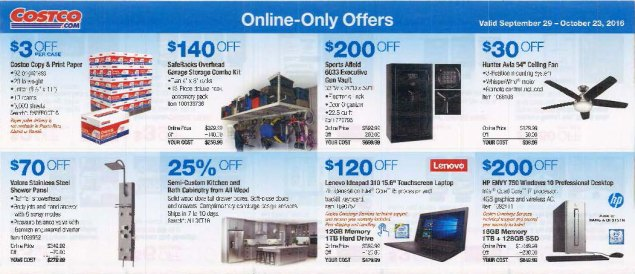 October 2016 Costco Coupon Book Page 16