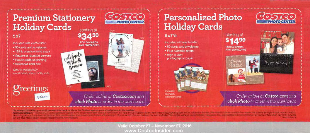 November 2016 Costco Coupon Book Page 18 Costco Insider - Coupon Book Printing