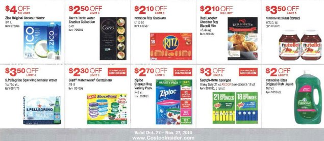 November 2016 Costco Coupon Book Page 7