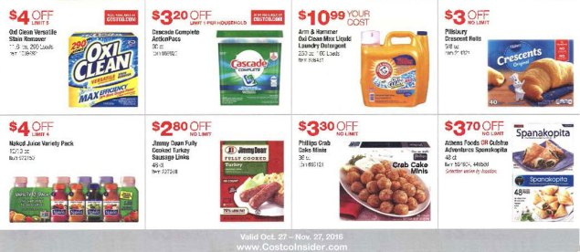November 2016 Costco Coupon Book Page 9