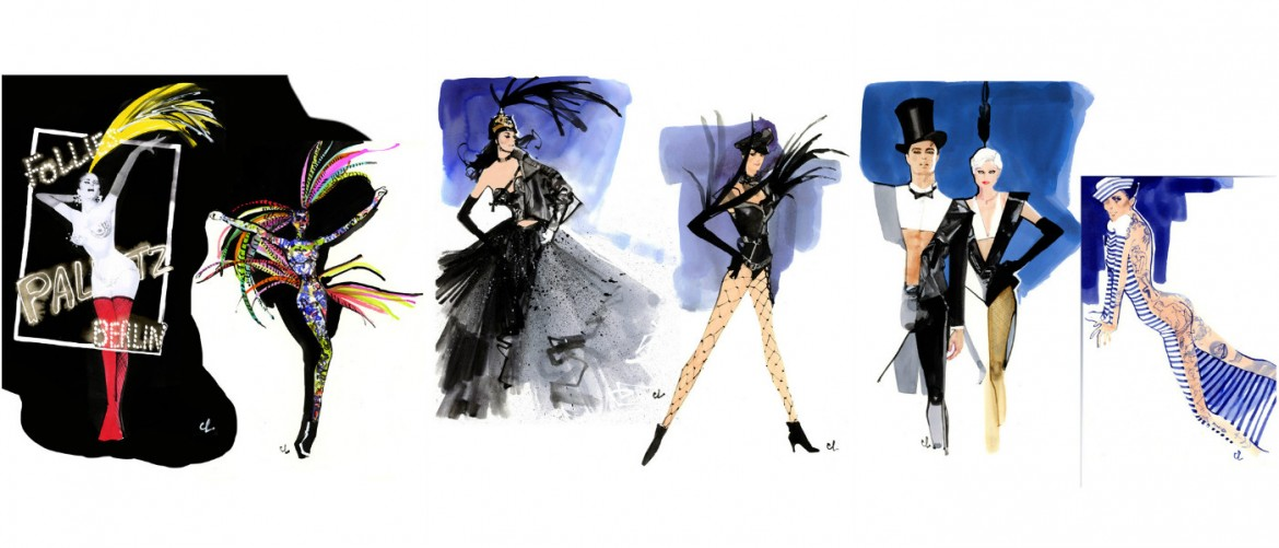 Costume Designs for the Biggest Show in the World!