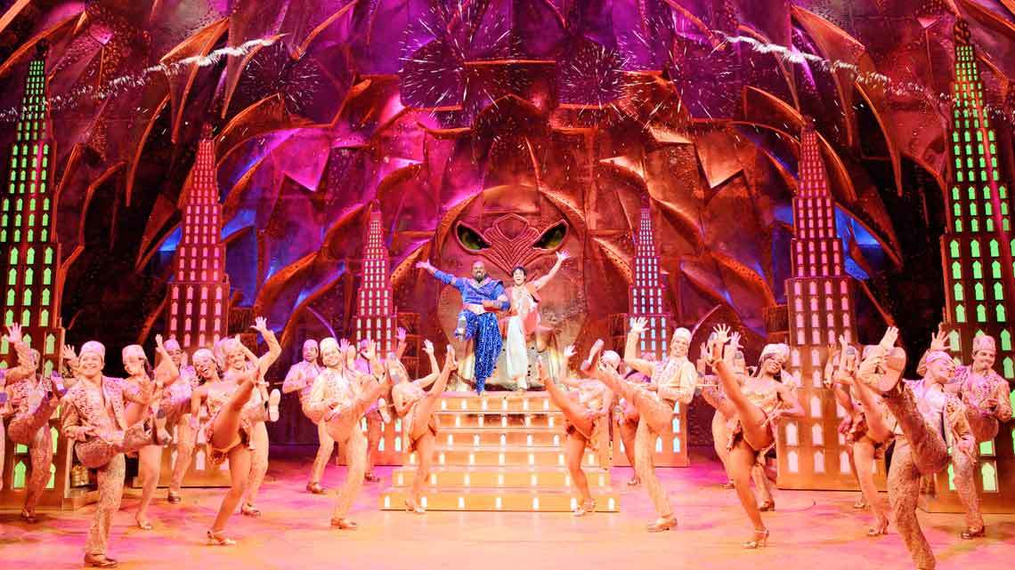Disney's Musical Aladdin Features Two Million Swarovski Crystals