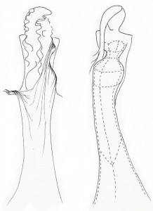 Stage costume design