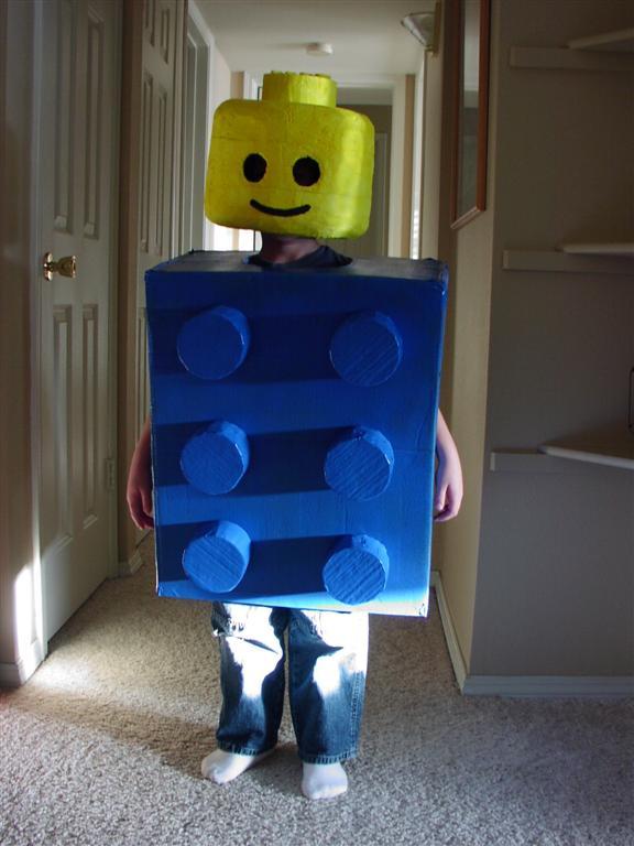 Lego Spiderman Costume Kid ... & Kids Lego Man Costume - Meningrey
