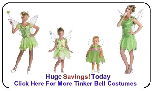 Tinker Bell Costumes