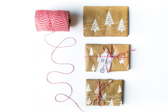 DIY | Gift wrapping paper