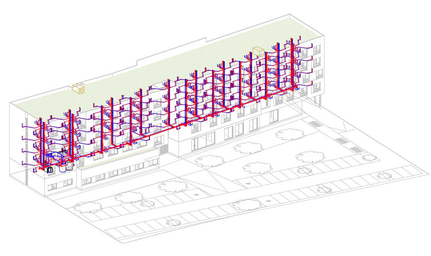 model cv plomberie chauffage