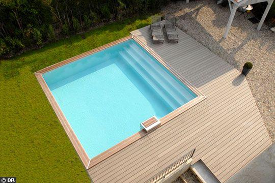 Peinture piscine béton permet lu0027entretien, la décoration, la - peindre une terrasse en beton