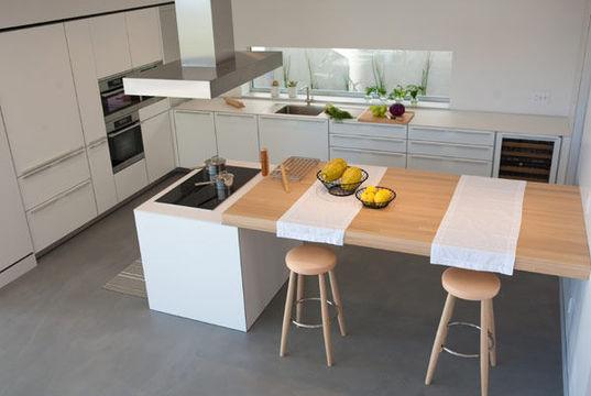 127 best cuisine images on Pinterest Kitchen ideas, Modern - plan de cuisine moderne avec ilot central
