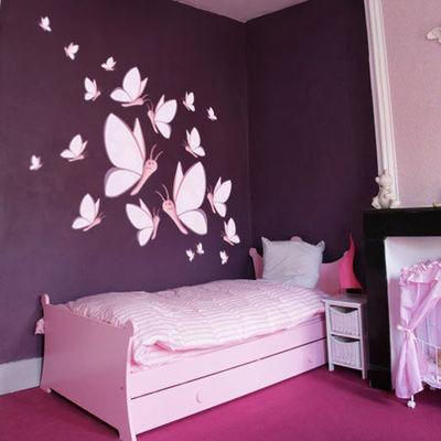 Peinture Pour Chambre Fille Chambre Fille Peinture Murale Couleur