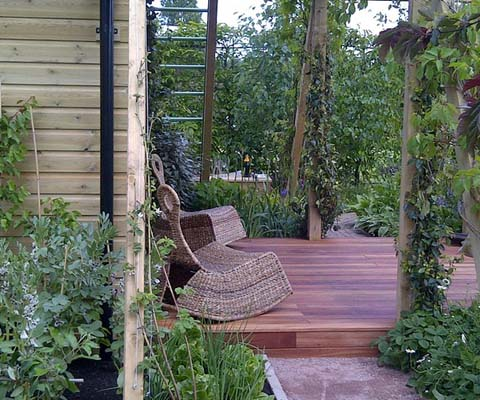 Veg and Deck