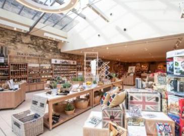 blenheim palace gift shop woodstock cotswolds