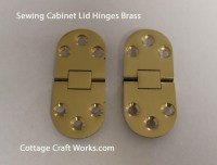 Sewing Machine Cabinet Lid Hinges