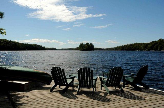 Adirondack Fall Wallpaper Healey Lake Muskoka Cottage For Rent Near Mactier Ontario