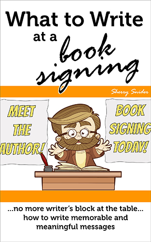 What to Write at a Book Signing \u2039 Cottaquilla Press - what to write