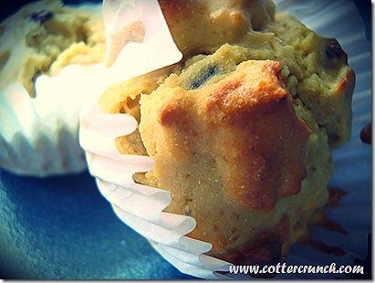 GF breakfast bean muffins