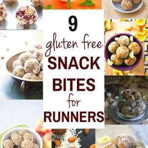 9 Gluten Free Energy Snack Bites for Runners