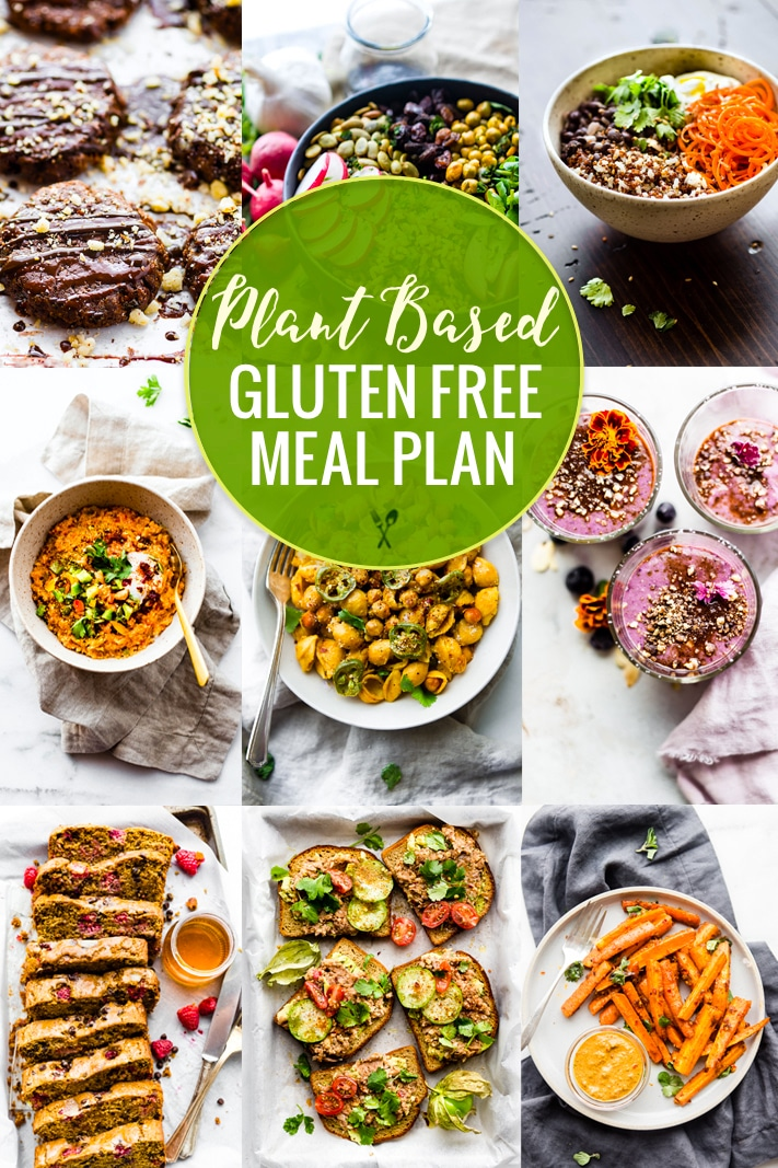 Plant Based Gluten-Free Meal Plan