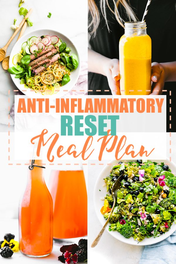 Anti-Inflammatory Diet Meal Plan - Intro / RESET Cotter Crunch